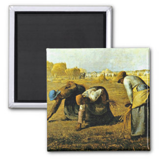 The Gleaners - Jean-Francois Millet Magnet