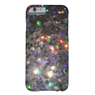 The Glitz Glitter Black Hologram Cell Phone Case