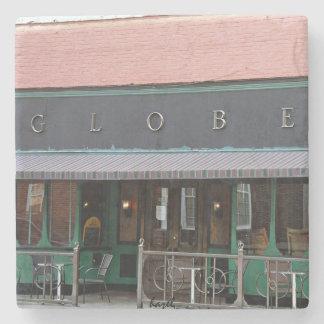 The Globe Athens Georgia Marble Stone Coaster. Stone Coaster