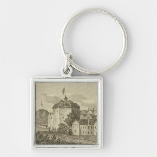 The Globe Theatre on the Bankside as it appeared i Key Chains