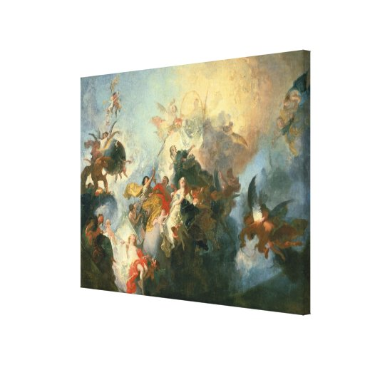 The Glorification of the Order Stretched Canvas Print