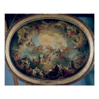 The Glorification of the Virgin, 1731 Poster