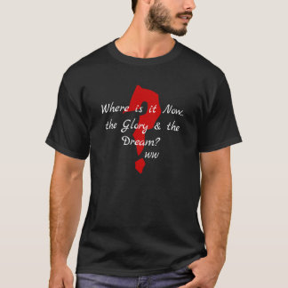 The glory & the dream Wordsworth Red Mark T-Shirt