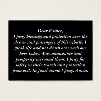 """""""The Glove Box Prayer Card"""