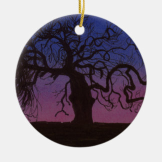 The Gnarly Tree Ceramic Ornament