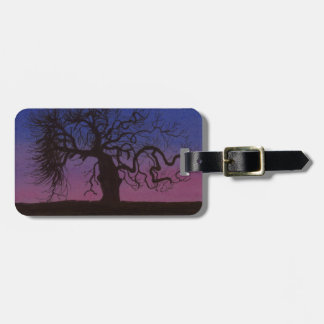 The Gnarly Tree Luggage Tag
