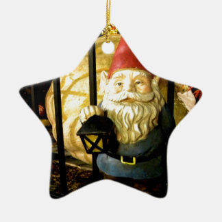 The Gnome and The Giant Ceramic Star Ornament
