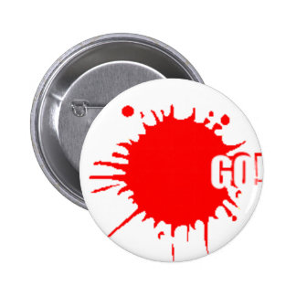 The go-badge 2 inch round button