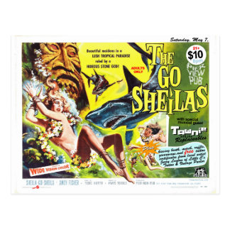 The Go-Sheilas May7 2011 show flyer Postcard