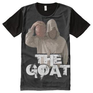 The Goat Baller All-Over Printed Panel T-Shirt