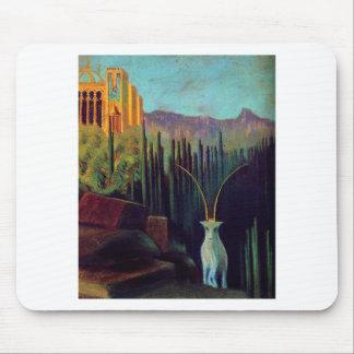 The goat by Mikalojus Ciurlionis Mouse Pad