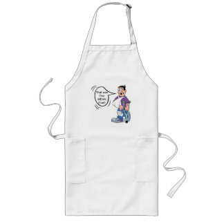 The Goat Rider Long Apron