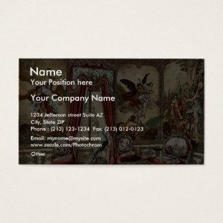 The Gobelin Tapestries, Linderhof Castle, Upper Ba Business Card
