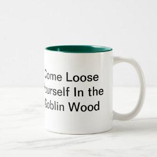The Goblin Wood Two-Tone Coffee Mug