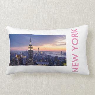 THE GOD OF NEW YORK LUMBAR PILLOW