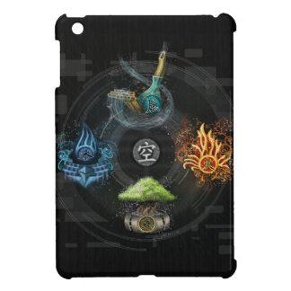 The Godai five elements kanji art illustration iPad Mini Covers