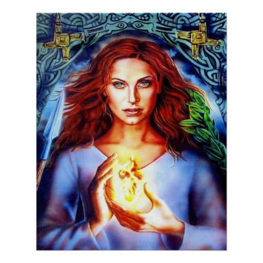 Brigid, Celtic Goddess of Fire - Crystal Wind™   Celtic: Ireland, Wales,  Scotland & Gaul