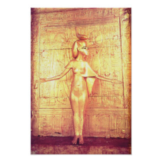 The goddess Selket on the canopic shrine Poster