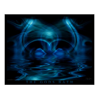 The Gods Bath Poster
