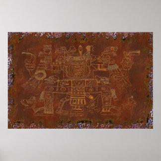 The Gods South American Folk Art Print