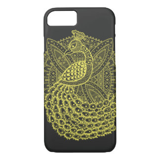 The Gold Peacock iPhone 7 Case