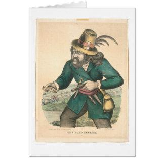 The Gold Seeker (0638A) Card