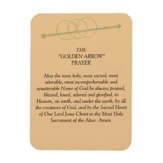 The Golden Arrow Prayer Magnet