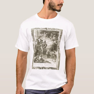The Golden Fleece Won by Jason (engraving) T-Shirt