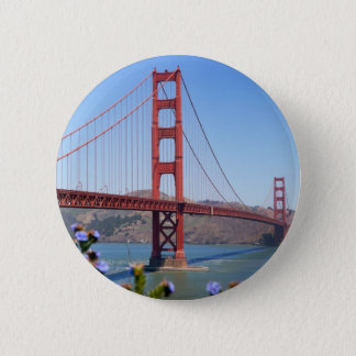The Golden Gate 2 Inch Round Button
