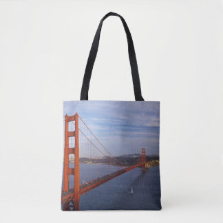 The Golden Gate Bridge from the Marin Tote Bag