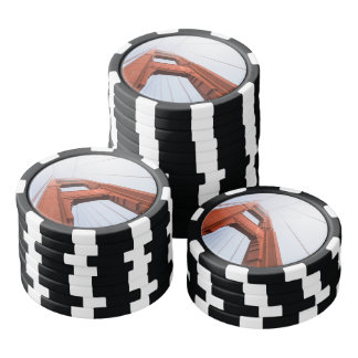 The Golden Gate Bridge Poker Chips