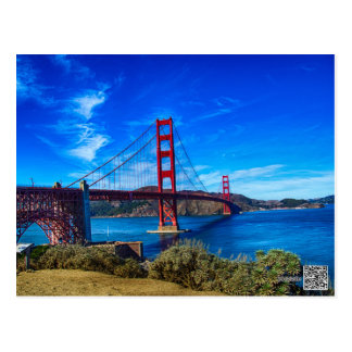 The Golden Gate Bridge Postcard