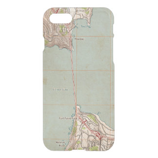 The Golden Gate Topographic Map iPhone 7 Case