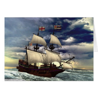The Golden Hind Card