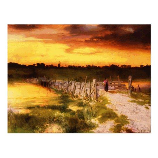 The Golden Hour Postcard