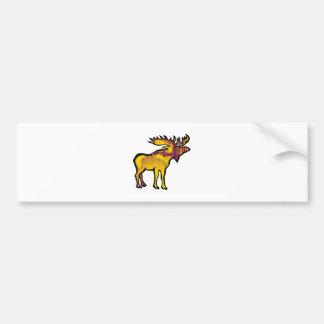 The Golden Moose Bumper Sticker