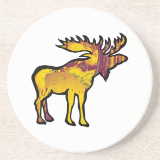 The Golden Moose Coaster