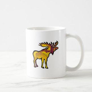 The Golden Moose Coffee Mug