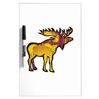 The Golden Moose Dry Erase Board