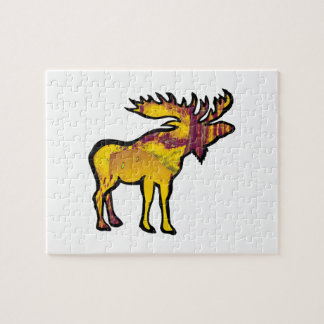 The Golden Moose Jigsaw Puzzle