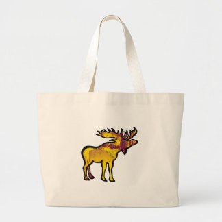 The Golden Moose Large Tote Bag