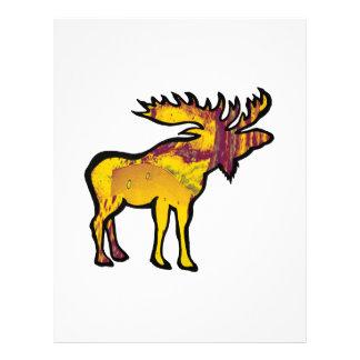 The Golden Moose Letterhead