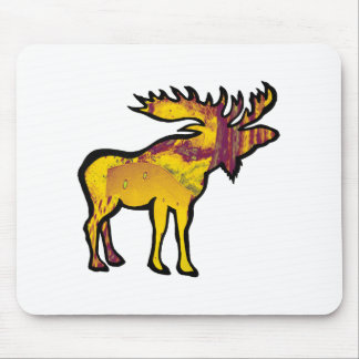 The Golden Moose Mouse Pad