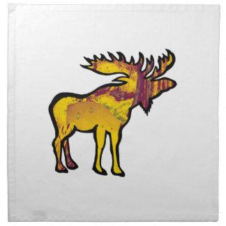 The Golden Moose Napkin