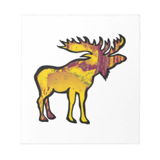 The Golden Moose Notepad