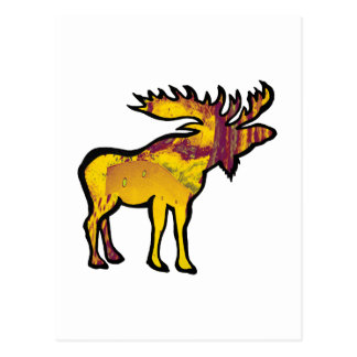The Golden Moose Postcard