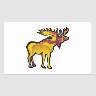 The Golden Moose Sticker