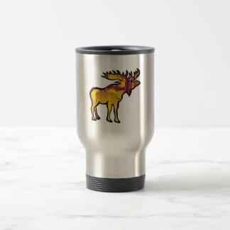 The Golden Moose Travel Mug