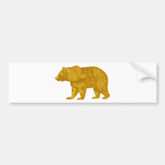 THE GOLDEN ONE BUMPER STICKER