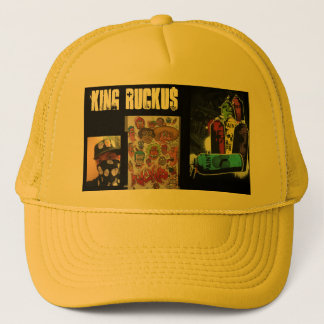 THE GOLDEN ONE KING RUCKU$ TRUCKER HAT